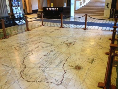 Mitchell Library Foyer Map