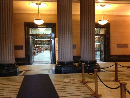 Mitchell Library Entrance